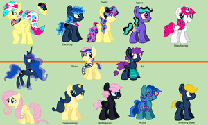 Sonny LunaShy Adopts WINNERS ANNOUNCED by GlitterQuark