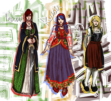 Traditional clothing is fun by hyamara