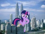 Twilight's city by TheOtterPony