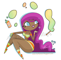 Bubbles and stripes by kinkei