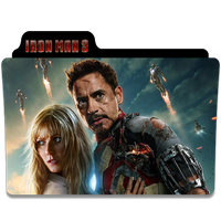 Iron Man 3 Folder Icon by efest