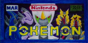Pokemon License Plate by BrookRiver