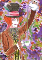 The Mad Hatter by arima-shiro