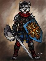 Wolf Fighter 03 by TheLivingShadow