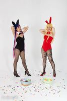 Bunnies and Candy by SapphireEagle