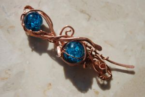 Copper pendant by yuhime