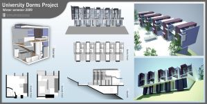 University Dorms Project by NoamM