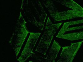 Transformers Autobot icon scan by neovax