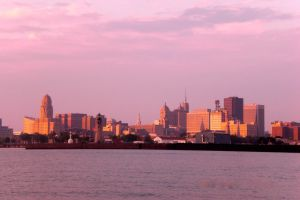 Buffalo Skyline #1 by morelme