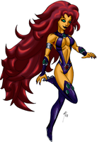 Starfire - Comics - by UltimeciaFFB