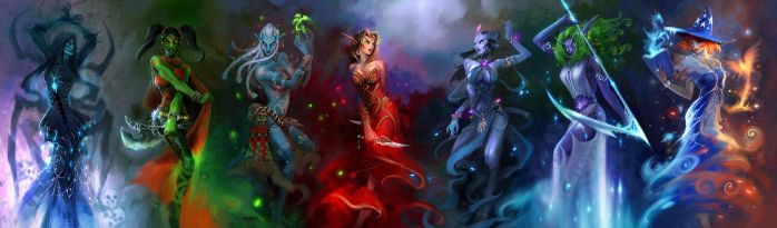 dance of blood and misty blue by breath-art