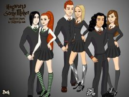 Hogwart Couples by Skyred8604