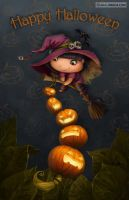 Halloween fairy by LiaSelina