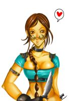 tomb raider by bechan