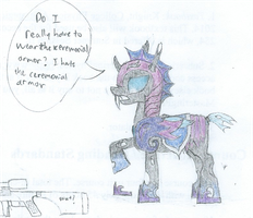 Sketch with Color  Ceremonial Armor by ProfessionalPuppy