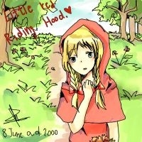 Little red riding hood by Pattanun