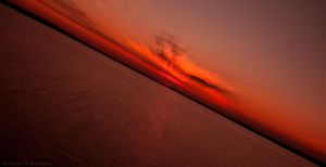 Sunset in zooming range by ScorpionEntity