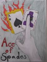 Ace of Spades by shadowedshards