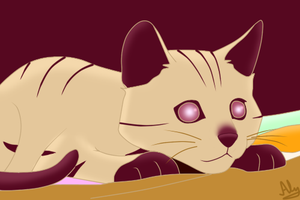 Le Cat :3 by Dj-Aly