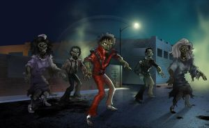 Thriller Tribute by cimurr