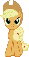 applejack by starboltpony