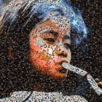 Htoo photo mosaic by Mosaikify