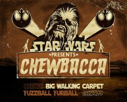 Chewbacca Furball by TheAngryAngel