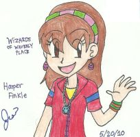 Harper Finkle - My Anime Style by Agufanatic98