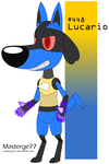 Robot Pokemon Challenge Day 8: Lucario by Masterge77