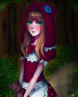 League of Legends - Red Riding Annie by maryfraser