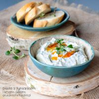 thyme and goat cheese dip by Pokakulka
