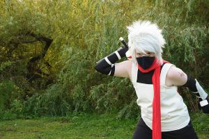 ANBU Kakashi shoot 4 by KashiRuka