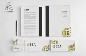 Bitcoin Business Alliance Logo Design by vasiligfx