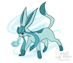 Button - Glaceon by ShadowOfNights