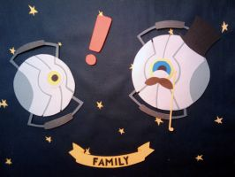 A Family in Space by Hatpire