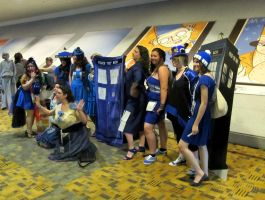 OTAKON 2012- Doctor Who TARDIS by DoctorTonyStarkWho
