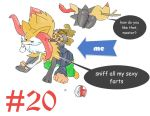 #20Braixen nasty fart pokemon in my nose by ponightmareop2