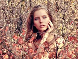 PhotoSession- InAutumnLeaves 4 by RuslanKadiev