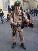 Ghostbuster - Lucca Comics 2013 by Groucho91