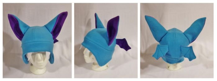 Zubat Hat by Mermade4u