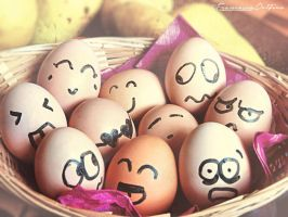 Crazy eggs by FrancescaDelfino