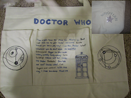 Doctor Who Tote by CndnTARDISgirl
