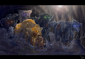 In the Tunnels (Warrior Cats) by WarriorCat3042