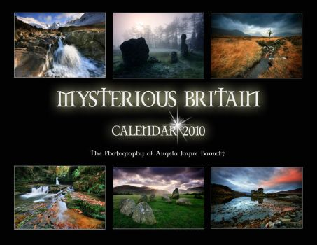 Mysterious Britain Calendar by ArwensGrace