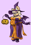 halloween rouge by MaxTheBerzerker