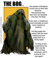The Bog- bio by LegacyHeroComics
