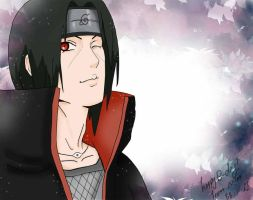 Itachi-B-day by Lulusama