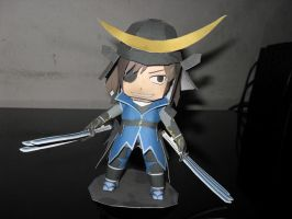 Date Masamune papercraft by MichelCFK