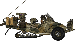 Pronghorn SMK Sandmobile ATV by AC710N87