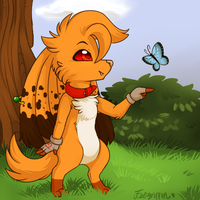 [Com] Butterfly forest by Feligriffin